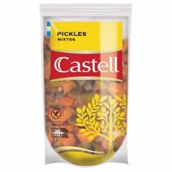 Pickles en Vinagre Castell Doy Pack x 150 g.