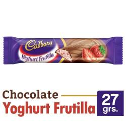 Chocolate con Yogurt Frutilla Cadbury x 27 g.