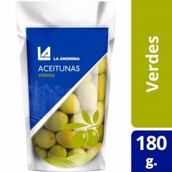 Aceitunas Verdes Doy Pack La Anónima x 180 g.
