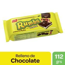 Galletitas Chocolate Rellenas con Vainilla Rumba x 112 g.