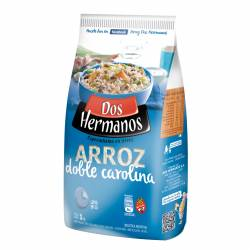 Arroz Carolina Doble Dos Hermanos Bolsa x 1 Kg.