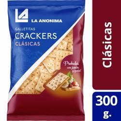 Galletitas Crackers Bolsa La Anónima x 300 g.