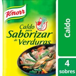 Caldo para Saborizar Knorr Verdura x 4 sobres x 30 g.