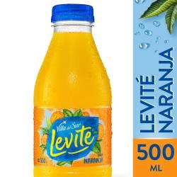 Agua sin gas Levité Naranja x 500 cc.
