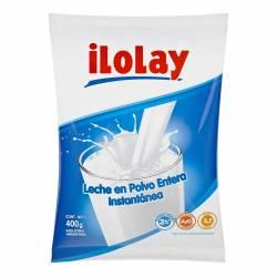 Leche en Polvo Descremada Ilolay con Vitaminas A y D x 400 g.