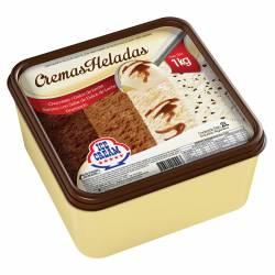 Helado Chocolate DDL Granizado Banana c/ DDL Ice Cream x 1 Kg.