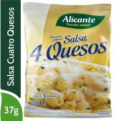 Polvo para preparar Salsa 4 Quesos Alicante x 37 g.