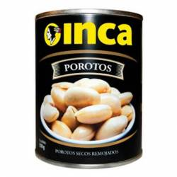 Porotos Secos Remojados Inca x 350 g.
