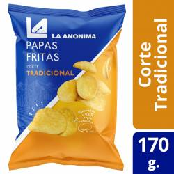 Papas Fritas La Anónima x 170 g.