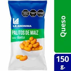 Palitos de Maíz con Queso La Anónima x 150 g.