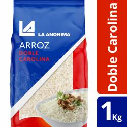 Arroz Carolina Doble La Anónima x 1 Kg.
