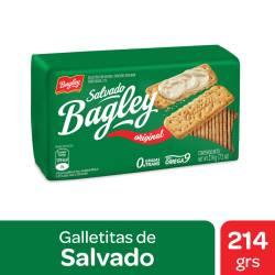 Galletitas Salvado Bagley Fibractive x 214 g.