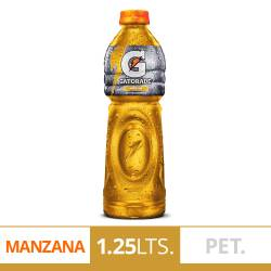Gatorade Manzana Pet x 1,25 lt.