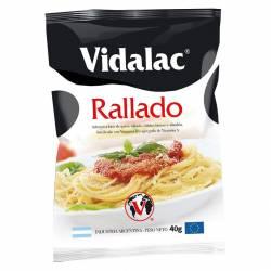Alimento Fortificado a Base de Queso Rallado Vidalac x 40 g.