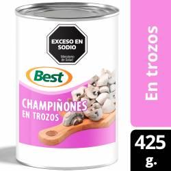 Champignones en Trozos Best x 425 g.