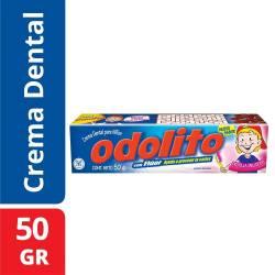 Crema Dental Infantil Odolito Frutilla x 50 g.