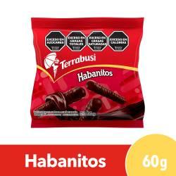Galletitas Habanitos Terrabusi Bañadas con Chocolate x 60 g.