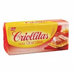 Galletitas Crackers Más Grandes - Untables Criollitas x 169 g.