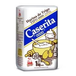 Harina de Trigo 0000 Caserita x 1 Kg.