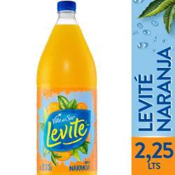 Agua sin gas Levité Naranja x 2,25 lt.