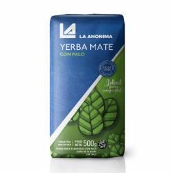 Yerba Mate con Palo La Anónima x 500 g.
