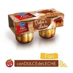 Flan Casero con Dulce x 2 un. Sancor Vainilla x 240 g.