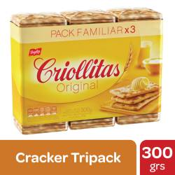 Galletitas Crackers Criollitas x 300 g.