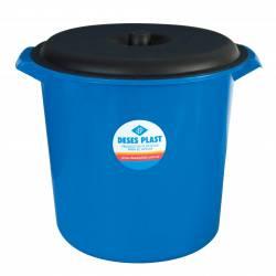 Recipiente para Residuos con Tapa Deses Plast 9 lt x 1 un.