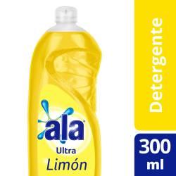 Detergente Líquido Ala Limón x 300 cc.
