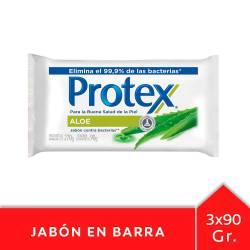 Jabón de Tocador Protex Aloe Vera x 3 un. x 270 g.