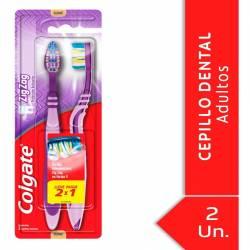 Cepillo Dental Colgate Suave Zig Zag x 2 un.