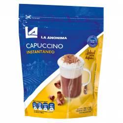 Café Instantáneo Capuccino Doy Pack La Anónima x 125 g.