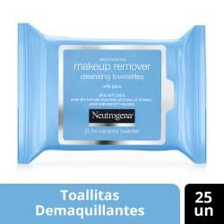 Toallitas Desmaquillantes Neutrogena x 25 un.