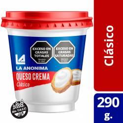 Queso Crema La Anónima Clásico x 320 g.