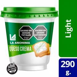 Queso Crema Light La Anónima x 320 g.