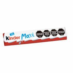 Chocolate Relleno con Leche Kinder Maxi x 21 g.