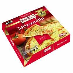 Pizza Mozzarella x 2 un. Sibarita x 940 gr.