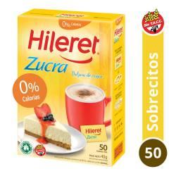 Endulzante Sobres Hileret Zucra x 50 un.