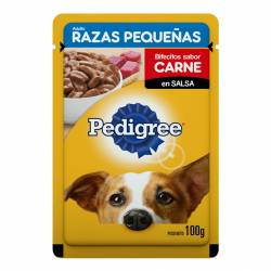 Alimento para Perro Adulto RP Pouch Carne Pedigree x 100 g.
