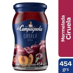 Mermelada La Campagnola Ciruela x 454 g.