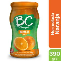 Mermelada La Campagnola BC Naranja x 390 g.