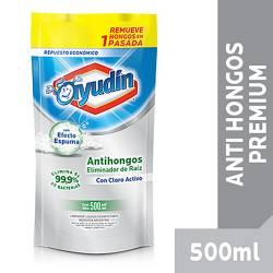 Limpiador Líquido Baño Ayudín Antihongo Raíz Doy Pack x 500 cc.