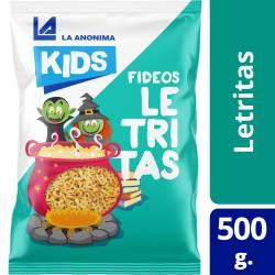 Fideos Letritas Kids La Anónima x 500 g.