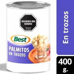 Palmitos en Trozos Best x 400 g.