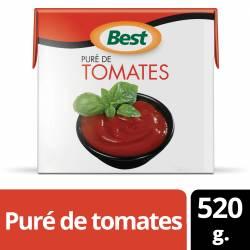 Puré de Tomates Best Brick x 520 g.