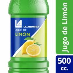 Jugo Concentrado de Limón La Anónima x 500 cc.