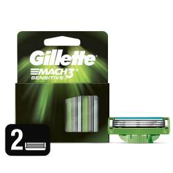Cartucho Afeitar Sensitive Gillette x 2 un.