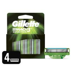 Cartucho Afeitar Sensitive Gillette x 4 un.