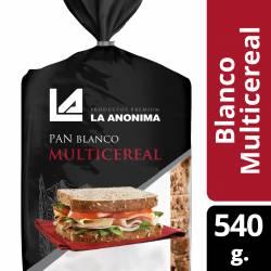 Pan Blanco Multicereal La Anónima x 540 g.