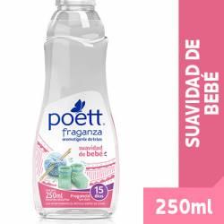 Perfume para Ropa Poett Suavidad Bebé Repuesto x 250 cc.